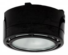 American Lighting LVPX20BK - Single 20 Watt Xenon Puck Light with 6-Foot Power Cord, 120 Volt, Black