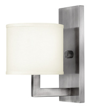 Hinkley 3210AN - One Light Antique Nickel Wall Light