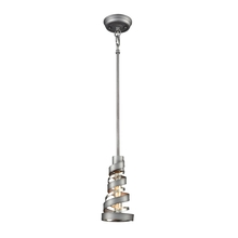 ELK Lighting 65192/1 - Zabrina 1 Light Pendant In Weathered Zinc And Po