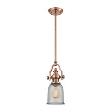 ELK Lighting 66751-1 - Chadwick 1 Light Pendant In Antique Copper And H